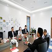 西安市商务局副局长陈天如到访思亿欧
