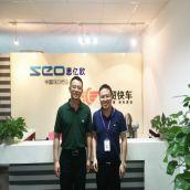 欢迎微软中国云总经理参观拜访思亿欧